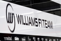 Williams team truck and logo
