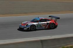 #44 Flying Lizard Motorsport Porsche 911 GT3 RSR Porsche: Seth Neiman, Marco Holzer