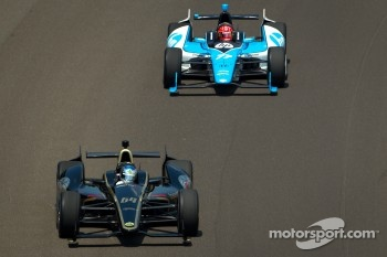 Jean Alesi, FP Journe – Fan Force United Lotus, Simon Pagenaud, Schmidt/Hamilton Motorsports Honda