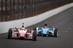Justin Wilson, Dale Coyne Racing Honda, Simon Pagenaud, Schmidt/Hamilton Motorsports Honda