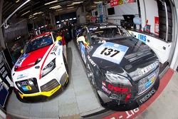 #115 FH Köln Motorsport e.V. Audi TT RS and #137 Scuderia Colonia e.V. im ADAC Audi TT S