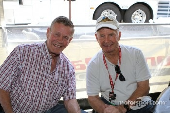 Bobby Unser and Parnelli Jones