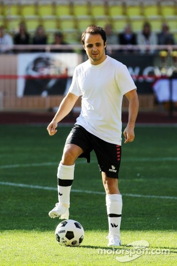Felipe Massa, Ferrari plays in the charity football match