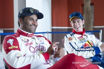 Nasser Al-Attiyah, Qatar World Rally Team and Thierry Neuville, Citroën Junior World Rally Team