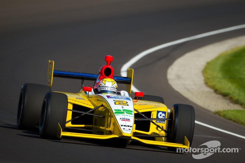 Colombian race car driver Gustavo Yacaman Team Moore
