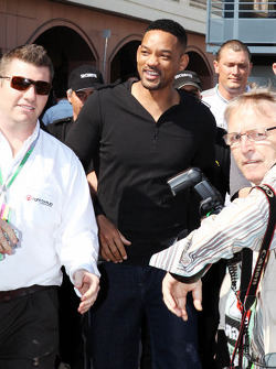 Will Smith, Actor in the paddock