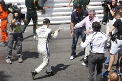 Race winner Johnny Cecotto