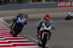 Jason DiSalvo leading SportBike