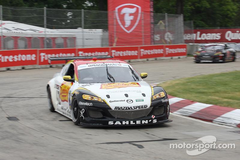 #42 Team Sahlen Mazda RX-8: Dane Cameron, Wayne Nonnamaker
