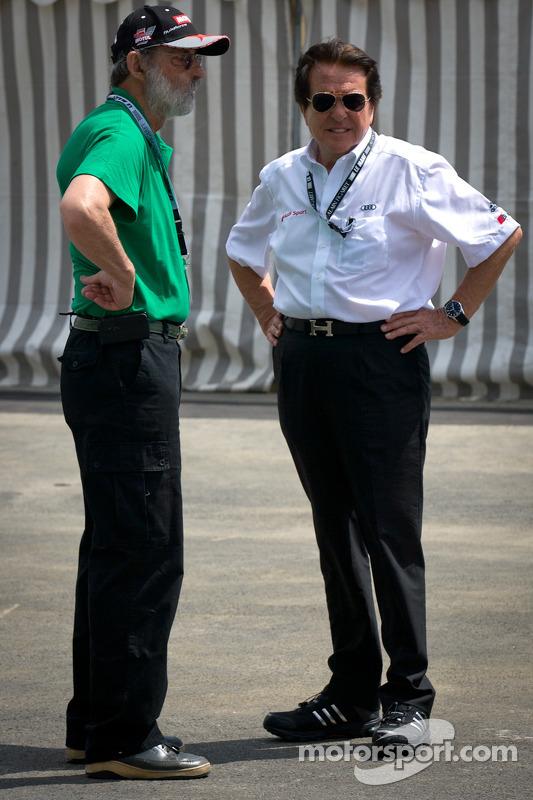 Henri Pescarolo and Reinhold Joest