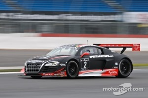 #2 Belgian Audi Club Team WRT Audi R8 LMS ultra: Edward Sandstrom, Laurens Vanthoor, Marco Bonanomi