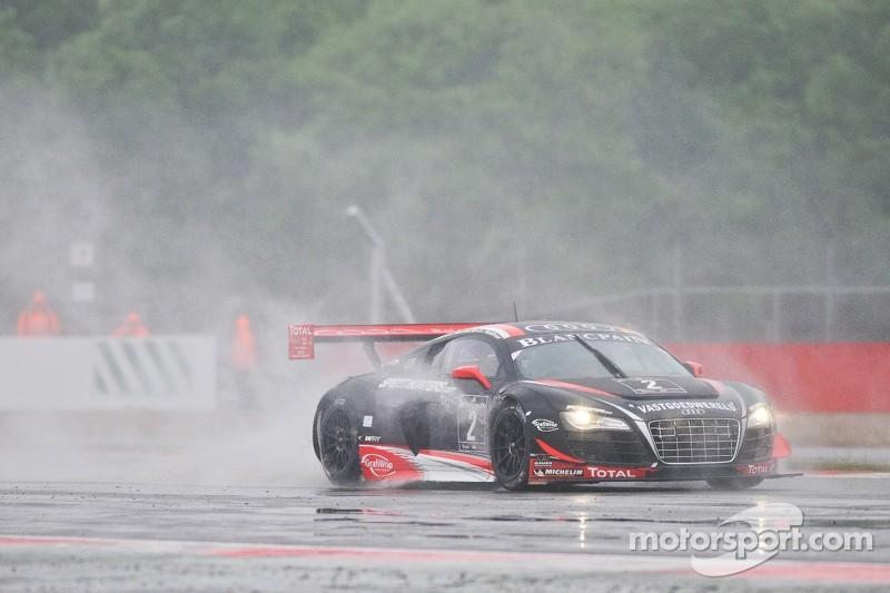 #2 Belgian Audi Club Team WRT Audi R8 LMS ultra: Edward Sandstrom, Laurens Vanthoor, Andrea Piccini