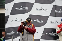 Podium: Marc van der Straten - team owner Marc VDS Racing