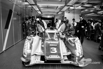 #3 Audi Sport Team Joest Audi R18 Ultra: Marc Gene, Romain Dumas, Loic Duval
