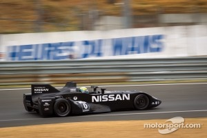 #0 Highcroft Racing Delta Wing Nissan: Marino Franchitti, Michael Krumm, Satoshi Motoyama at Le Mans