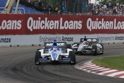 Ana Beatriz, Andretti Autosport/Conquest Racing Chevrolet, Dario Franchitti, Target Chip Ganassi Honda