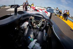 #0 Highcroft Racing Delta Wing Nissan cockpit