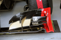 Lotus F1 front wing