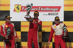 Damon Ockey Ferrari of Ontario 458CS, Darren Crystal Ferrari of Houston 458CS,