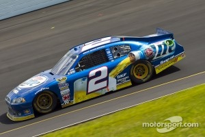 Brad Keselowski was one of many that ran afoul of the timing loops Sunday