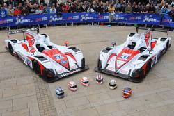 #42 Greaves Motorsport Zytek Z11SN Nissan: Alex Brundle, Martin Brundle, Lucas Ordonez, #41 Greaves Motorsport Zytek Z11SN Nissan: Christian Zugel, Ricardo Gonzalez, Elton Julian