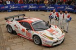 #83 JMB Racing Ferrari 458 Italia: Manuel Rodrigues, Philippe Illiano, Alain Fert