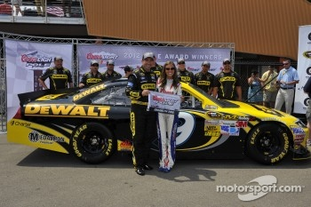 Pole winner Marcos Ambrose