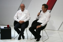 Dr. Wolfgang Ullrich, Audi's Head of Motorsport and Ralf Jüttner, Technical Director Audi Sport Team Joest