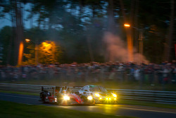 #22 JRM HPD ARX 03a Honda: David Brabham, Karun Chandhok, Peter Dumbreck and #75 Prospeed Competition Porsche 911 RSR: Abdulaziz Al Faisal, Bret Curtis, Sean Edwards