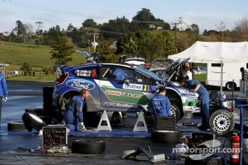 Jari-Matti Latvala and Miikka Anttila, Ford Fiesta RS WRC, Ford World Rally Team