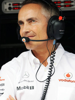 Martin Whitmarsh, Mclaren Mercedes Chief Executive Officer
