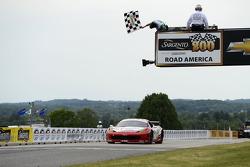 #69 AIM Autosport Team FXDD with Ferrari Ferrari 458: Emil Assentato, Jeff Segal takes the GT win