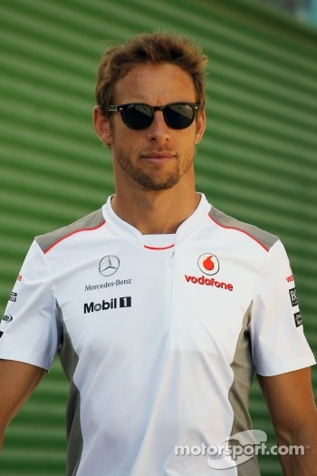 Jenson Button, McLaren Mercedes