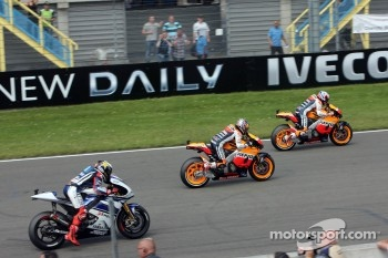 Start: Casey Stoner, Repsol Honda Team leads