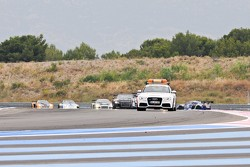 Safety Car deployed to clean up the mess