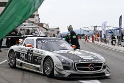 #14 KRK Racing Mercedes-Benz SLS AMG GT3: Rafael Vanthoor, Koen Wauters, Dennis Retera