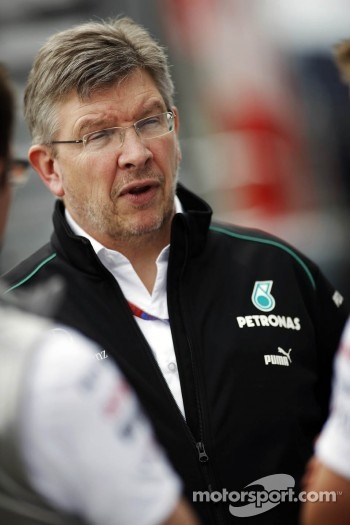Ross Brawn, Mercedes Mercedes AMG F1 Team Principal