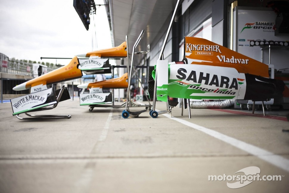 Sahara Force India F1 VJM05 bodywork