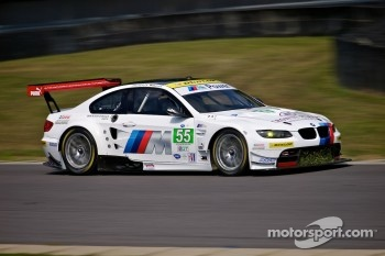 #55 BMW Team RLL BMW E92 M3: Bill Auberlen, Jorg Müller