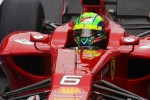 Felipe Massa, Ferrari wears a star on his helmet for Maria De Villota, Marussia F1 Team Test Driver