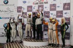 P2 podium: winners Scott Tucker, Christophe Bouchut