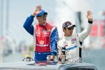 Graham Rahal and Takuma Sato