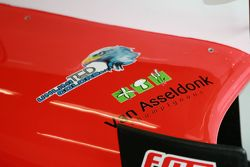 Livery on a Fortec car