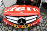 Hood of Robert Wickens, Mücke Motorsport AMG Mercedes C-Coupe