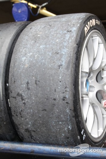 Tyres post-race