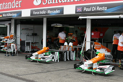 Sahara Force India Formula One Team, Pitbox