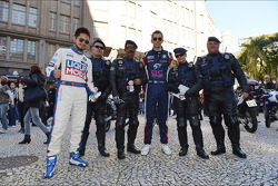 Autograph session, Charles Kaki Ng, BMW 320 TC, Liqui Moly Team Engstler and Alberto Cerqui, BMW 320 TC, ROAL Motorsport