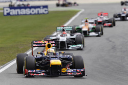 Sebastian Vettel, Red Bull Racing, Start