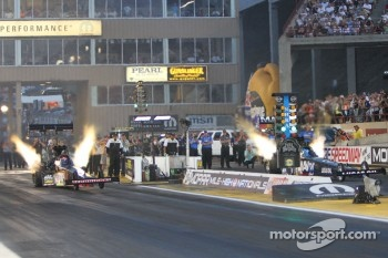 Doug Kalitta and Brandon Bernstein