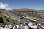 Grandstand view Bandimere Speedway